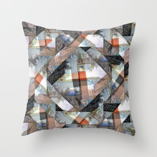 Wednesday 27 March 2013: imagined and solidified, seemingly apt, intemporal Throw Pillow