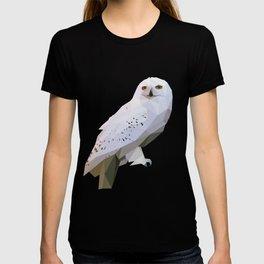Geometric barn owl T-shirt