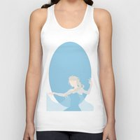elsa Tank Tops featuring Elsa by Polvo