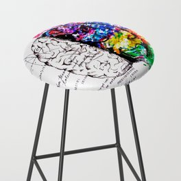 Conjoined Dichotomy Bar Stool
