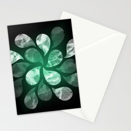 Abstract Water Drops XXX Stationery Cards