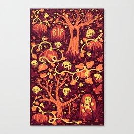 Halloween Path Canvas Print