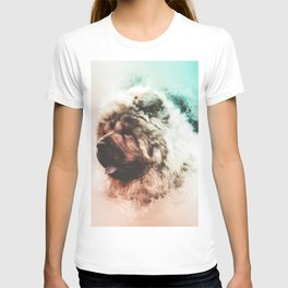 Chow Chow Digital Watercolor Painting T-shirt