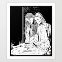 Lightweaver, Firestarter Art Print