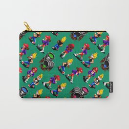 Monsters hunters pattern   zamn02gg   retro gaming vintage Carry-All Pouch