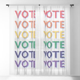 Suffrage Sheer Curtain