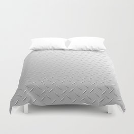 Diamond Plate Duvet Cover