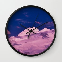 Clouds 18 Wall Clock