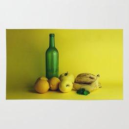 Lemon lime - still life Rug