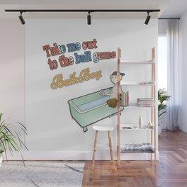The Bath Guys - Ball Game - BathBoy Wall Mural