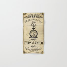 Steampunk Apothecary Shoppe - Watch Hand & Bath Towel