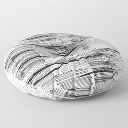 Polyharmonic Floor Pillow