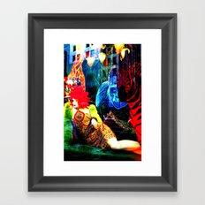 Ladies 3 Framed Art Print