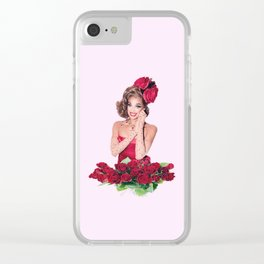 your smile is beautiful Clear iPhone Case