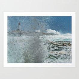 Hurricane Arthur Art Print
