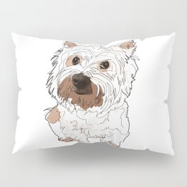 West Highland Terrier dog Pillow Sham