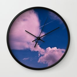Clouds 10 Wall Clock
