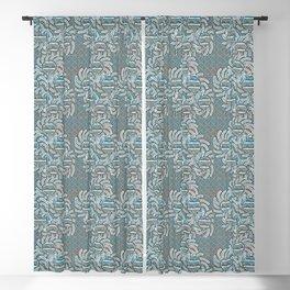 Sun Flower Design Blackout Curtain