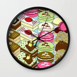 Cakes Cakes Cakes! Wall Clock
