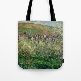 Plum Trees in Blossom Tote Bag