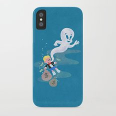 Where do friendly ghosts come from? iPhone X Slim Case