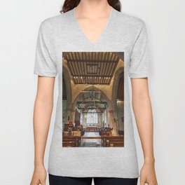 St Andrews Crossing Unisex V-Neck