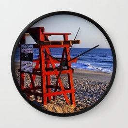 Beach Rules Wall Clock