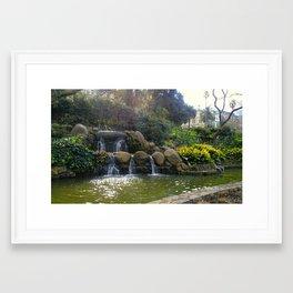 Treasury Gardens Melbourne Framed Art Print