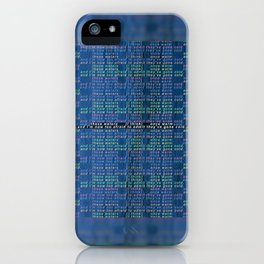 These Waters Once Warm iPhone Case