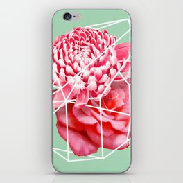 Floral Voronoi iPhone Skin