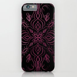 Roes Pink Kaleidoscope  iPhone Case