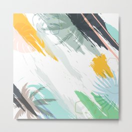 Paint art Metal Print