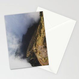 Hiking Trail on Monte Gradiccioli Stationery Cards