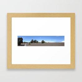 Devastation Trail Framed Art Print