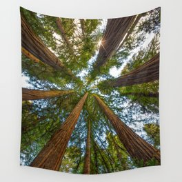 Redwood Forest Canopy Wall Tapestry