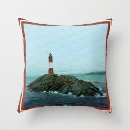 Les Eclaireurs Lighthouse Throw Pillow