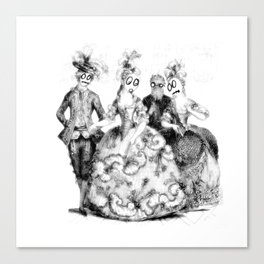 Tea Party Without the Tea Canvas Print