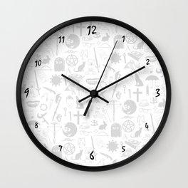 Buffy Symbology, Black Wall Clock