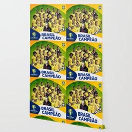 Brasil Champions Copa America 2019 Wallpaper