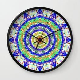 12 star mandala clock / phone cover Wall Clock