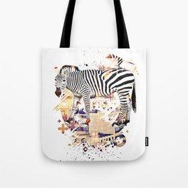Zebra Cross by GEN Z Tote Bag