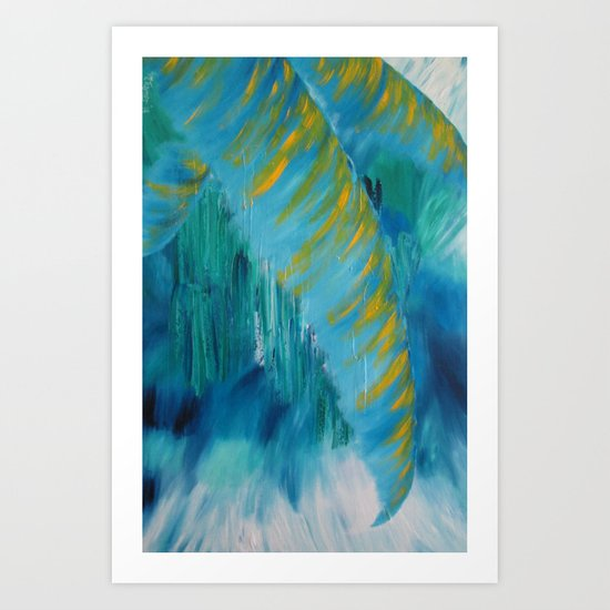 Abstract Palm  Art Print