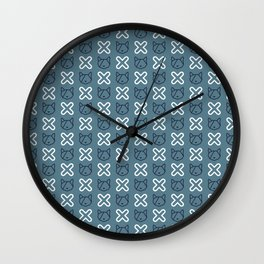 Ok Daijoubu Blue Wall Clock