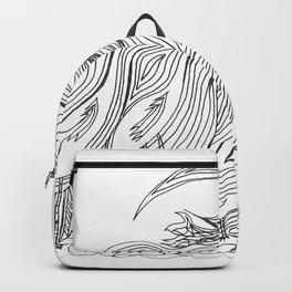 Gathering Cranes Backpack