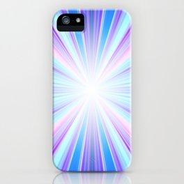 Candy Rainbow Starburst iPhone Case