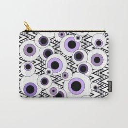 Peekaboo - Purple Carry-All Pouch