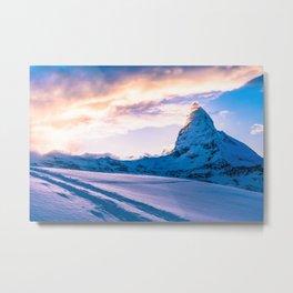 Mountain Peak (Morning Light) Metal Print