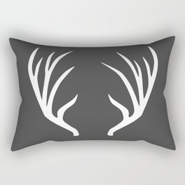 antlers Rectangular Pillow
