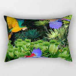 Jungle Paradise Rectangular Pillow
