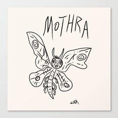 Mothra Canvas Print